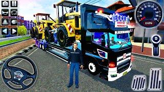 Truck Toyota Hino Transporter İnşaat Araçları - Bus Simulator Indonesia # 32 - Android GamePlay
