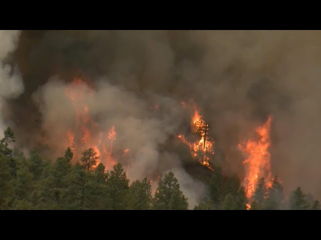 Crews fighting Colorado wildfires battle gusty winds, dry conditions