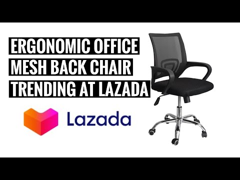 Ergodynamic Office Chair | Unboxing | Lazada | Ep1