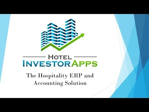 Benefits and Advantages of Hotel Investor Apps Accounting Software