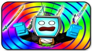 Roblox Zombie Rush - Z Weapon Pack 3 Gameplay - Everythings So Colorful