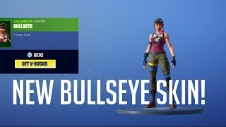 NEW BULLSEYE SKIN! DAILY ITEM SHOP NOV 6! Fortnite Battle Royale!