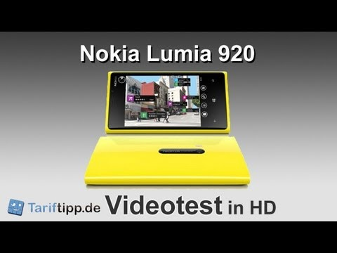 Nokia Lumia 920 | Test in HD (deutsch)