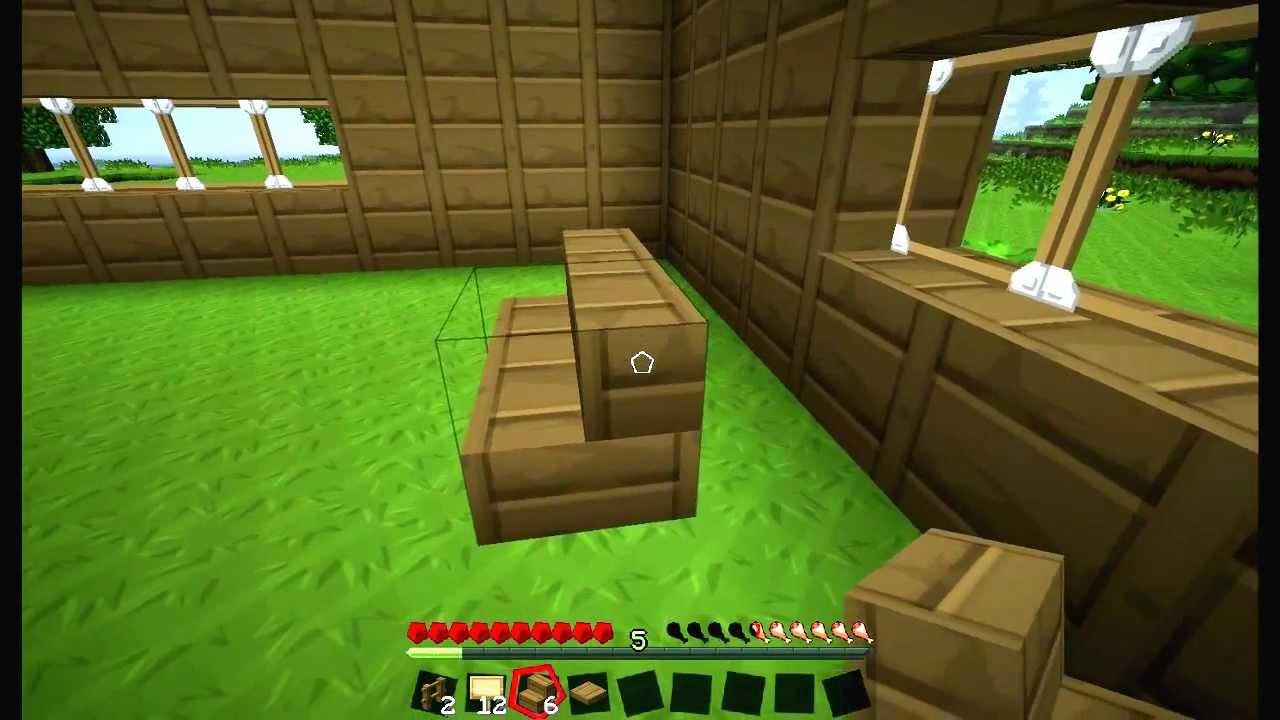 minecraft como hacer muebles y mesas en minecraft youtube