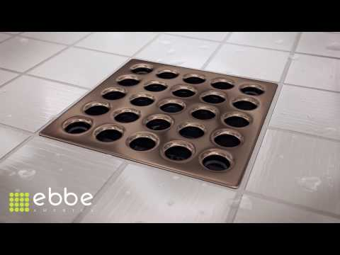 ~ HOW TO : Install our shower drains ~