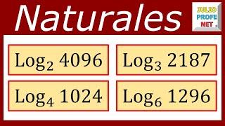 Ejercicios con logaritmos