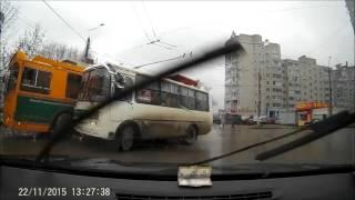 Подборка Аварий и ДТП Ноябрь 2015. Часть 3