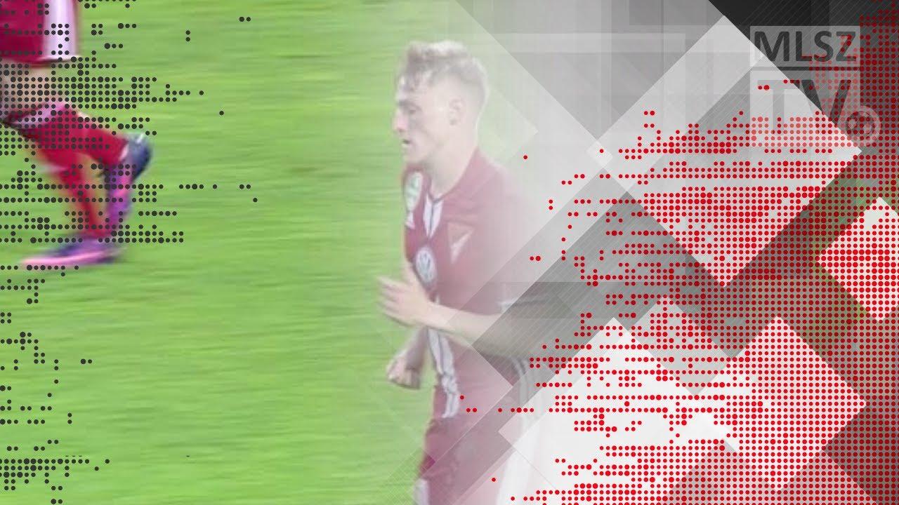 Takács Tamás gólja az Újpest FC - DVSC mérkőzésen