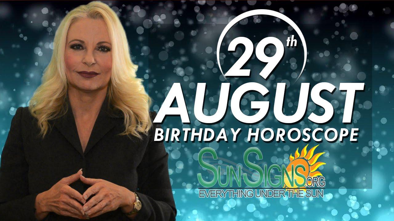 August 29 Zodiac Horoscope Birthday Personality | SunSigns Org