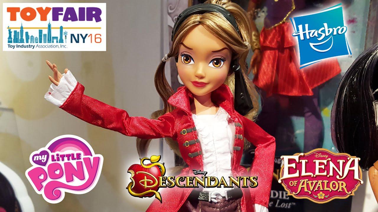 Toys Elena Sofia : Toy fair hasbro reveals disney descendants my little