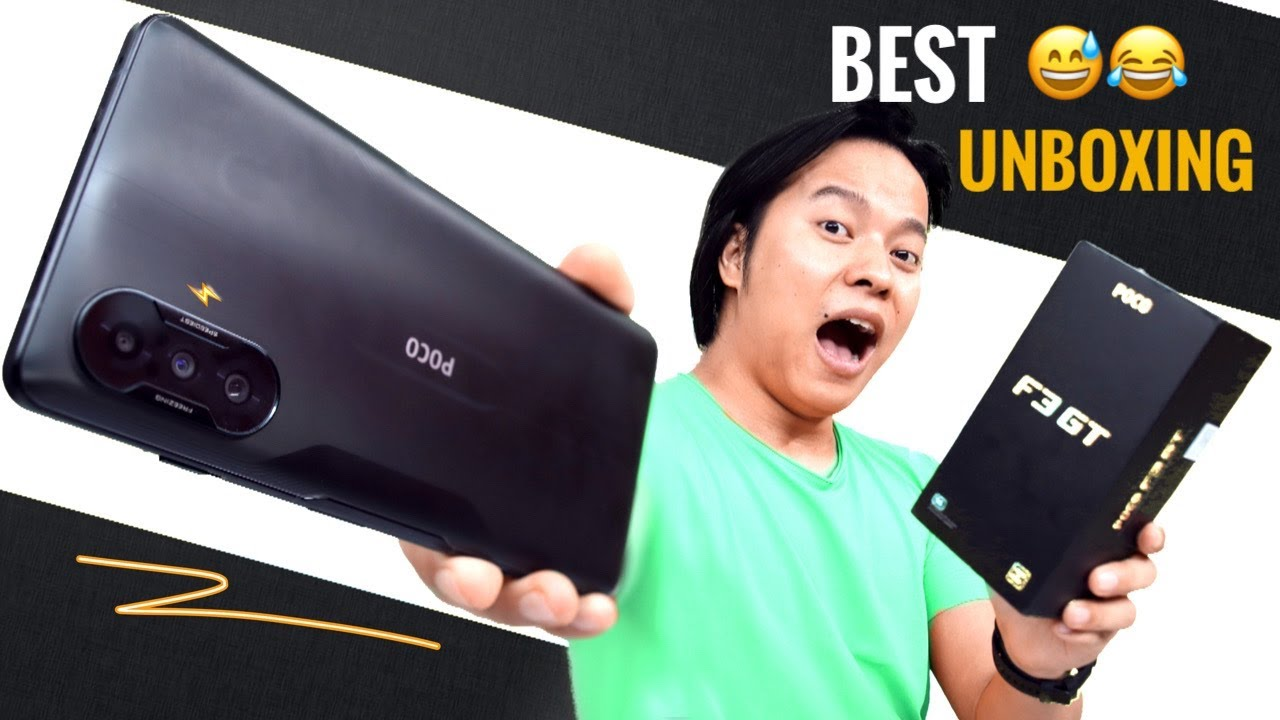 POCO F3 GT Unboxing : Better Than Nord 2 Really ??🤔🤔
