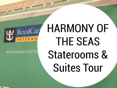 World's Biggest Cruise Ship   Cabin tour - Harmony of the Seas (Royal Caribbean) Staterooms