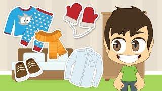 Learn Clothes in Arabic for Kids - تعلم اسماء الملابس باللغة العربية للأطفال