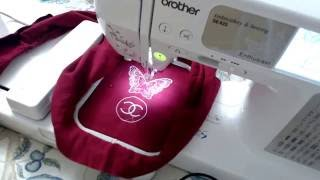 Brother SE425 real time sew fantastic results