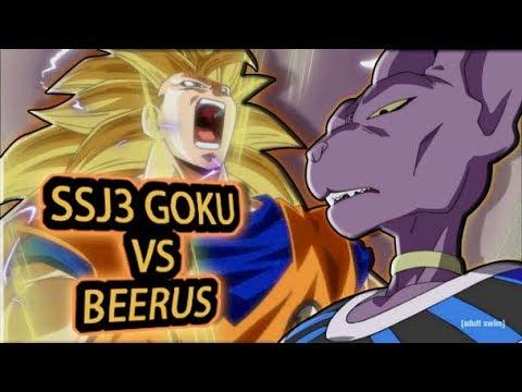 SSJ3 Goku VS Beerus [Dubstep Remix]