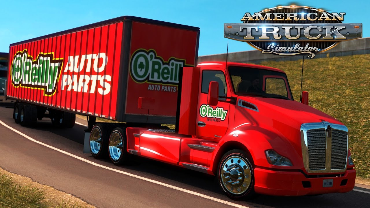 Truck Simulator: O'reilly Auto Parts - Des Moines IA to Kansas City MO