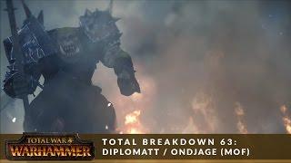 Total Breakdown 63 (MoF) - Greenskins vs Empire (Diplomatt vs Ondjage) - Total War Battle Replay