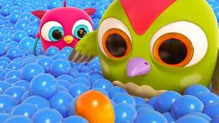 Совенок Хоп Хоп - Развивающие мультики для малышей. Новая серия - яйцо с сюрпризом