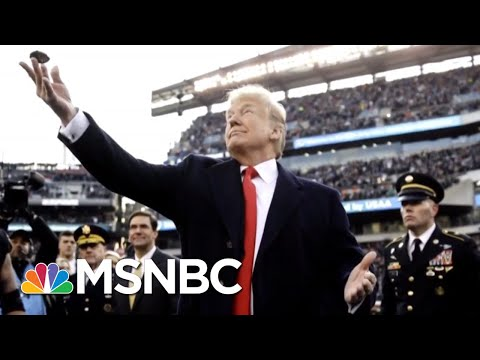 President Donald Trump Doesn't Know How To Do A Coin Toss | All In | MSNBC