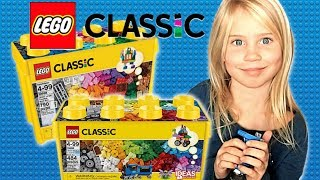 Lego Classic 10696 & Lego Classic 10698 Creative Brick Box Unboxing and Review