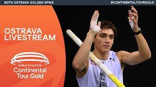 World Athletics Continental Tour Gold – Ostrava Golden Spike   Livestream