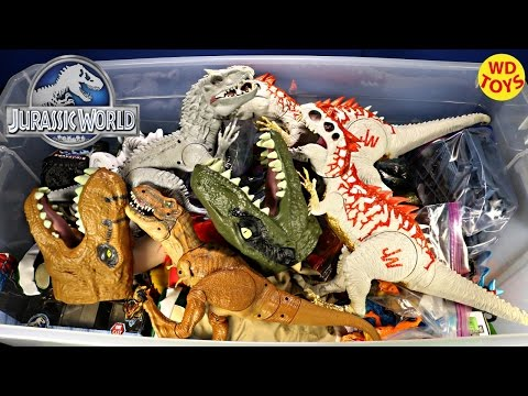 New Giant Box Jurassic World Surprise Toys / Indominus Rex
