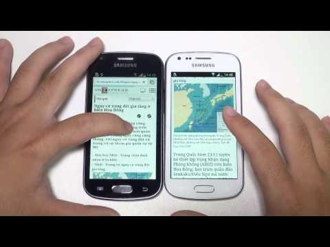 So Sánh Samsung Galaxy Trend và Samsung Galaxy Trend Plus | www.thegioididong.com