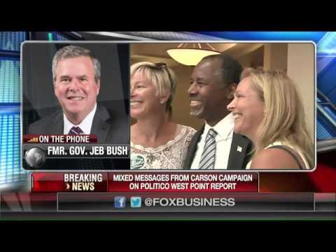 Jeb Bush: I trust Ben Carson over Politico