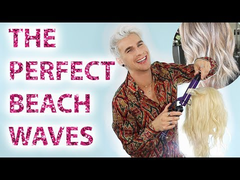 5 NEW TECHNIQUES TO GET BEACH WAVES IN YOUR HAIR! TRY IT! |bradmondo