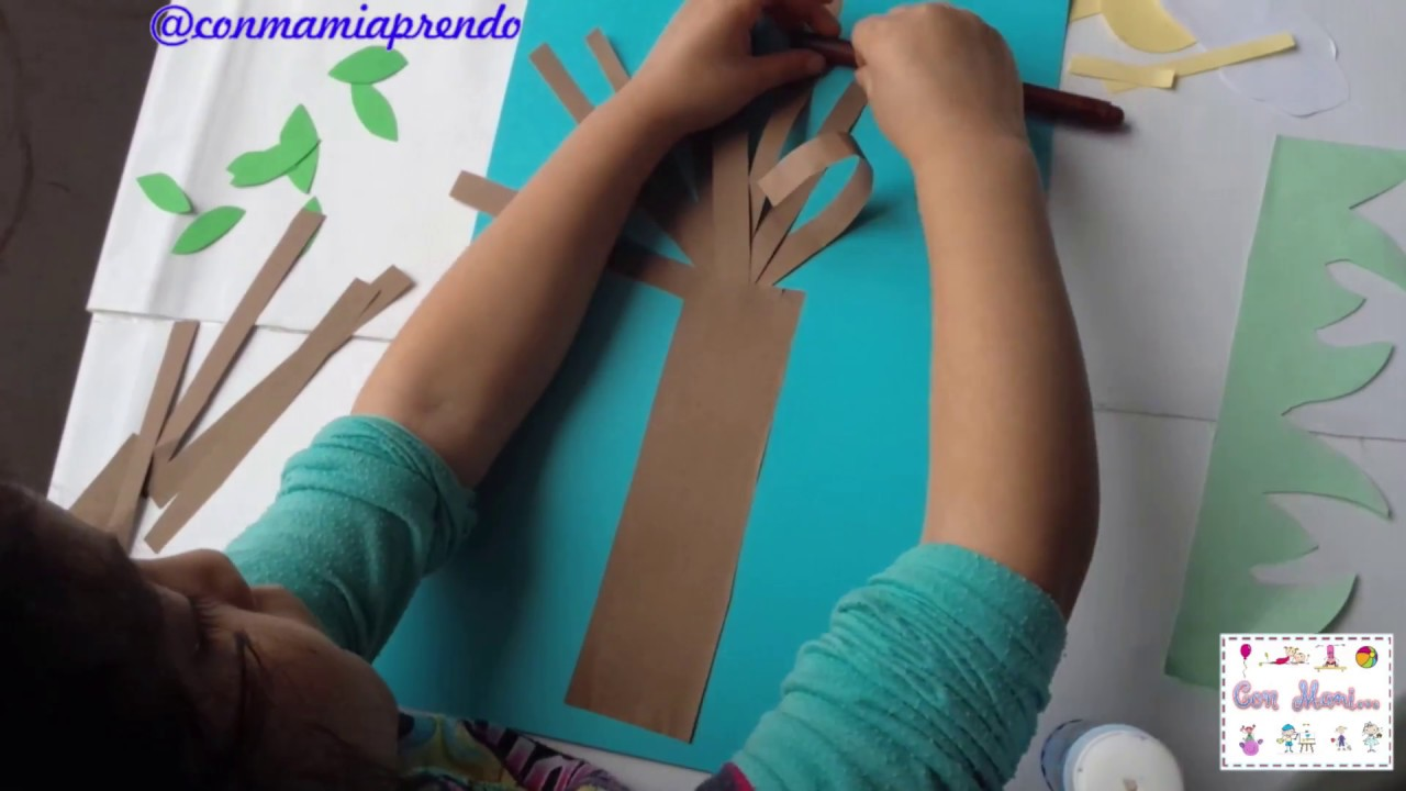 Manualidad Para Ninos De Preescolar Youtube