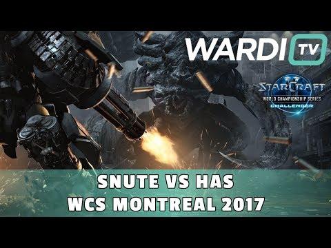 Snute vs Has (ZvP) - WCS Montreal RO16