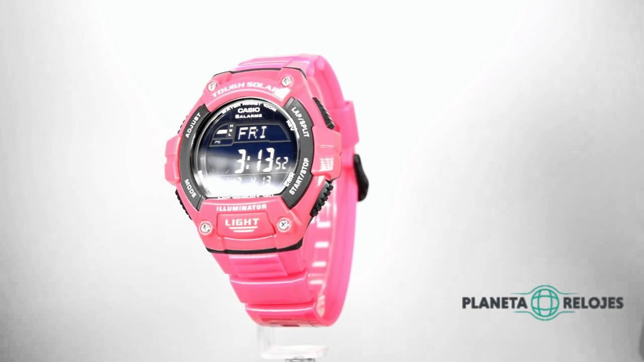 a8aba457a272 Reloj Casio W-S220C-4BVDF - YouTube