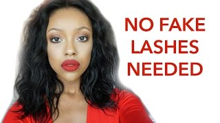 HOW TO SLAY WITHOUT FAKE LASHES | TAYLOR ANISE