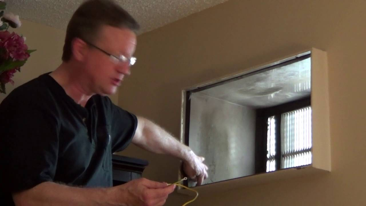 Install Through The Wall Air Conditioner Youtube Fedders Handler Wiring Diagram