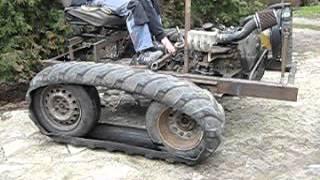 Pojazd gąsienicowy pierwsze testy1