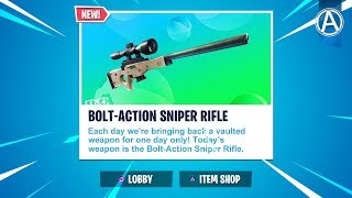 Bolt Action Sniper Rifle UNVAULTED // 2300+ Wins // Use Code: byArteer (Fortnite Battle Royale LIVE)