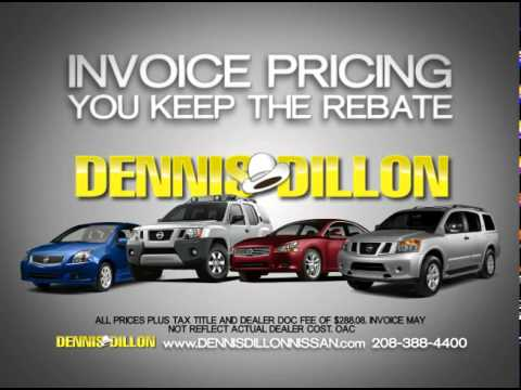 Dennis Dillon Nissan Commercial Thru June 30th   YouTube