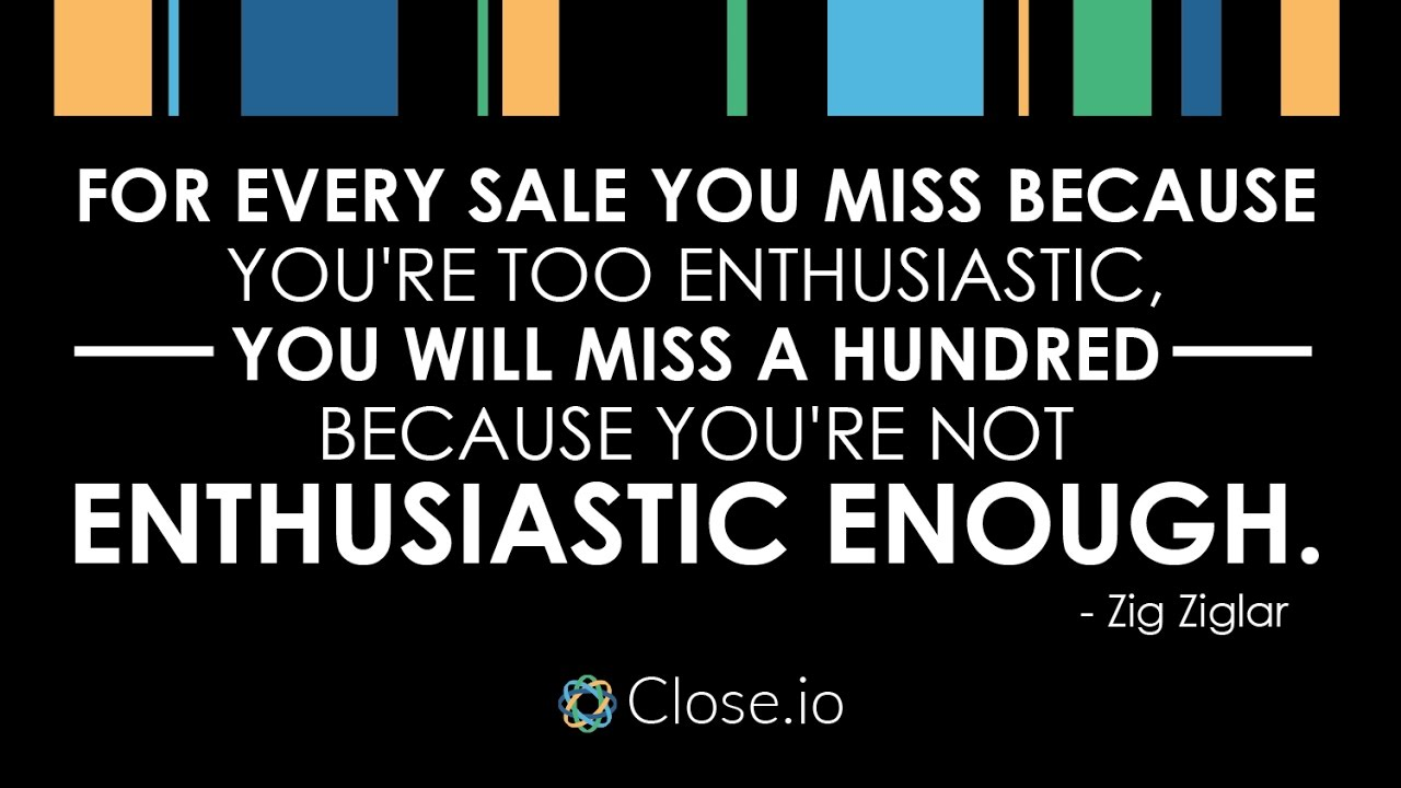 Sales Quote Sales Motivation Quote For Every Sale You Miss Because You're Too