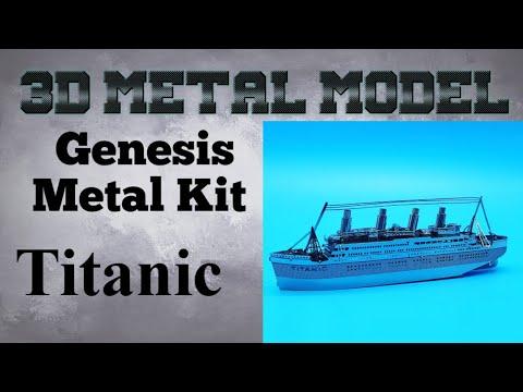 Genesis Metal Model Build - Titanic