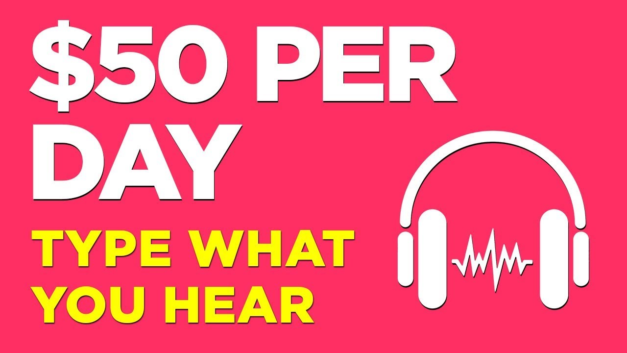 Earn Per Day Typing What You Hear (For Beginners)