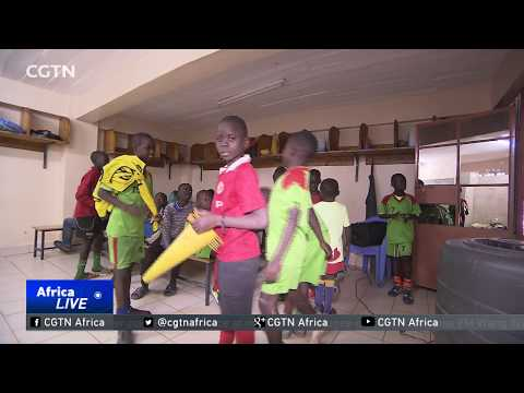 Nairobi football academy scores both on and off the pitch