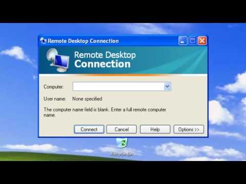 Windows XP - Remote Desktop