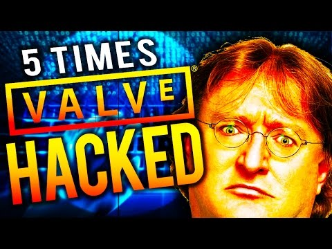 5 Times Valve, and Steam Got Hacked