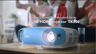 Live Sports in 4K! BenQ TK800 Home Entertainment Projector