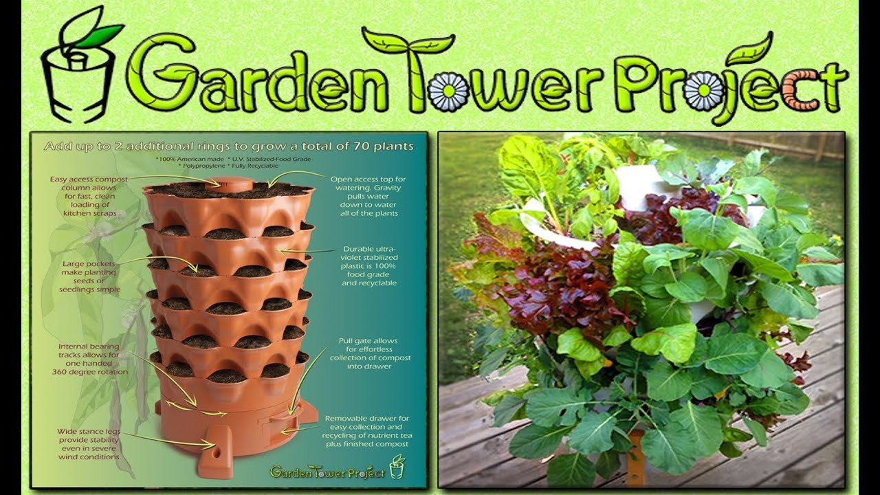 Garden Tower Project Summary YouTube
