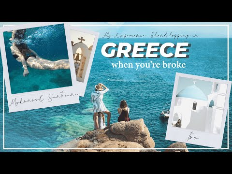 Island Hopping In Greece || My Experience, Tips, Hostels, Booking A Ferry & More