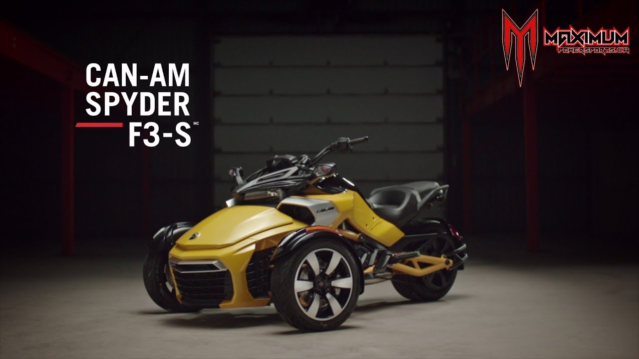 2018 can am spyder f3 s overview youtube. Black Bedroom Furniture Sets. Home Design Ideas