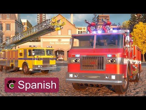 William Watermore, el camión de bomberos (SPANISH) - Héroes de Nuestra Ciudad