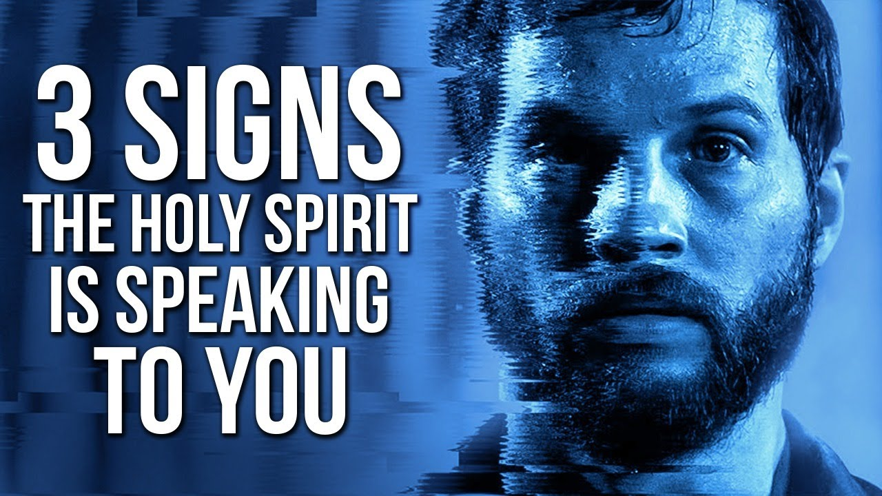 3 Signs The Holy Spirit Is Speaking To You (This May Surprise You)