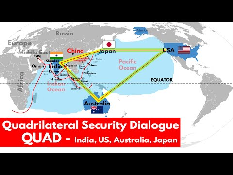 QUAD Group & its importance for India | Malabar Naval Exercise 2020 | Internal Relations UPSC